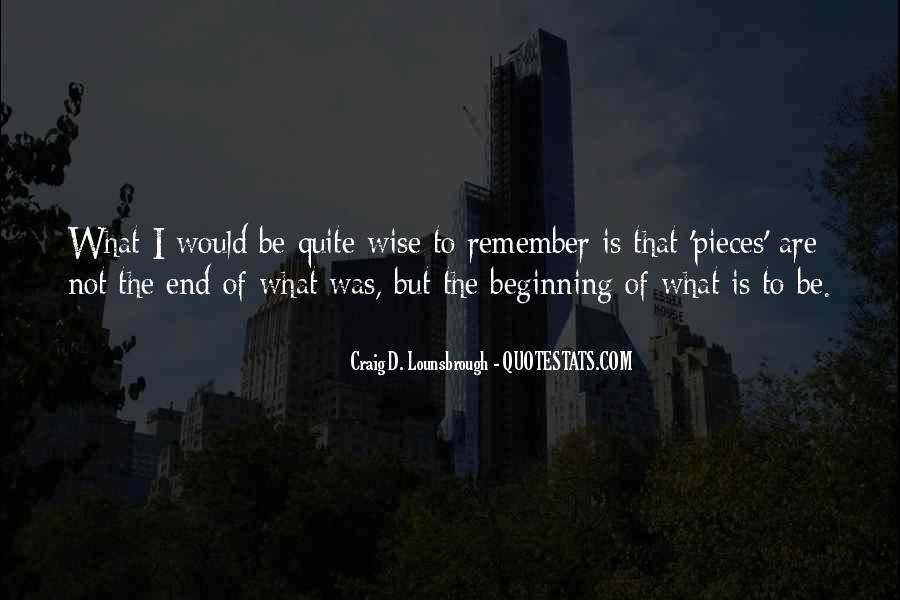 Quotes About Endings And New Beginnings #1595703