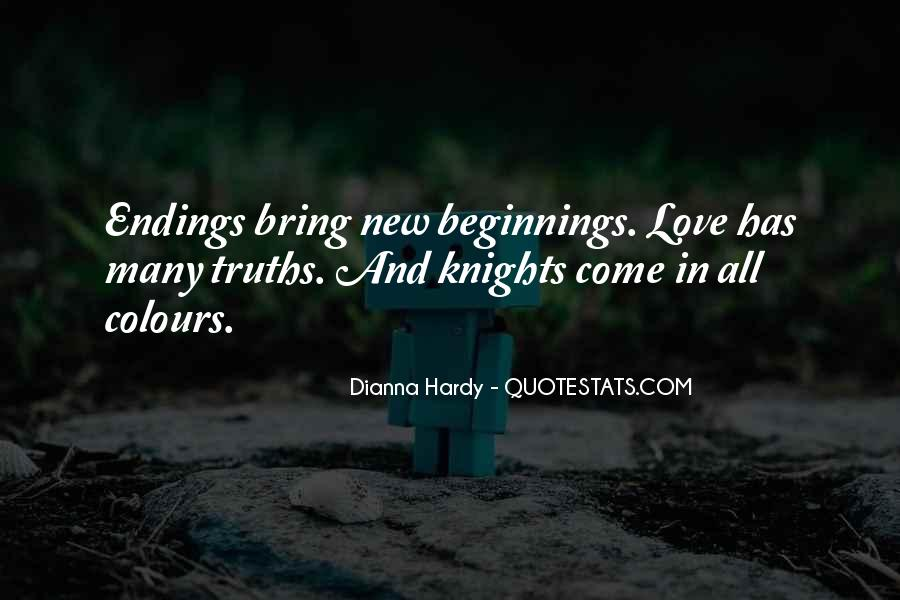 Quotes About Endings And New Beginnings #1628279