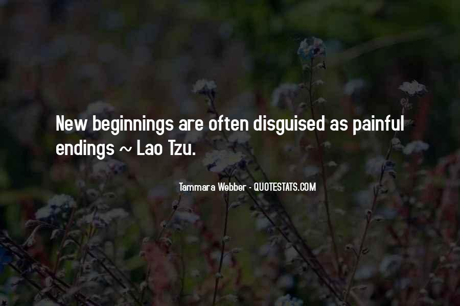 Quotes About Endings And New Beginnings #1858315