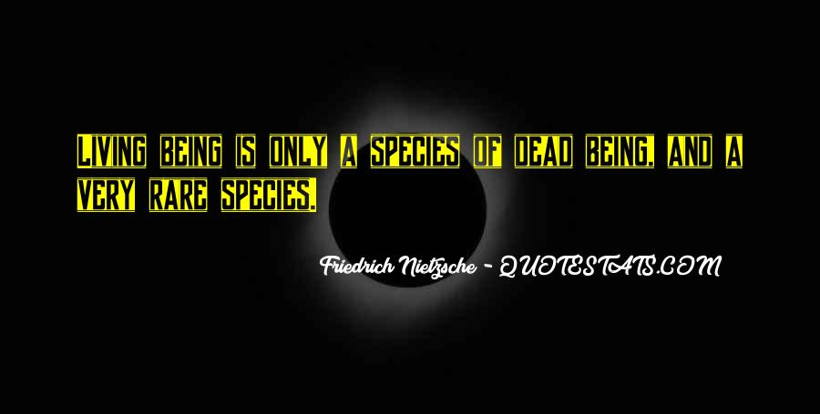 Quotes About Rare Species #793753