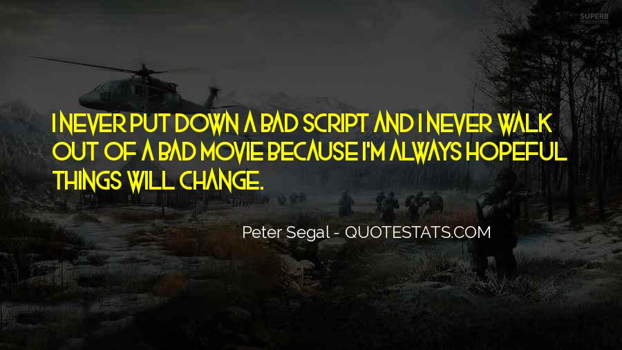 Quotes About I Will Change #169302