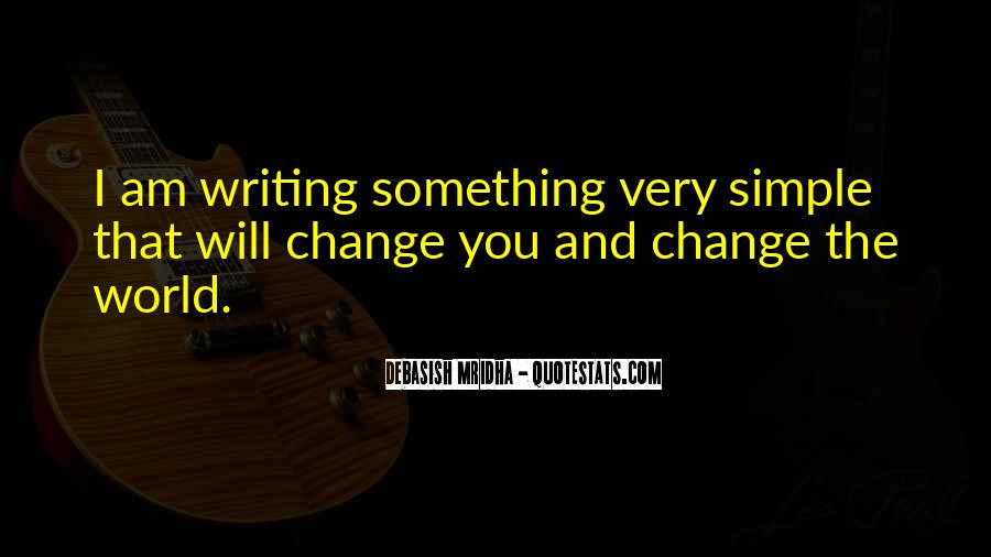 Quotes About I Will Change #197880
