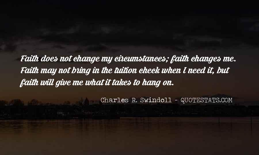 Quotes About I Will Change #99237