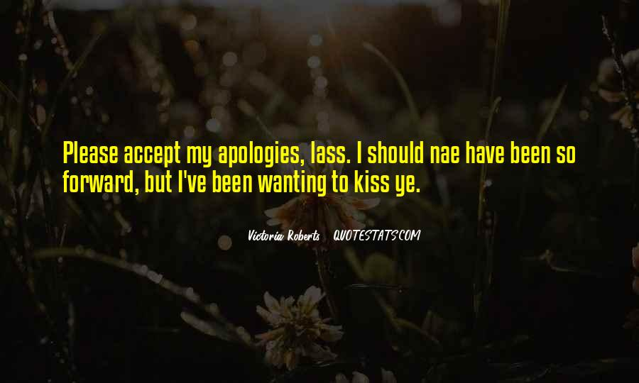 Quotes About Wanting Someone To Kiss You #178217