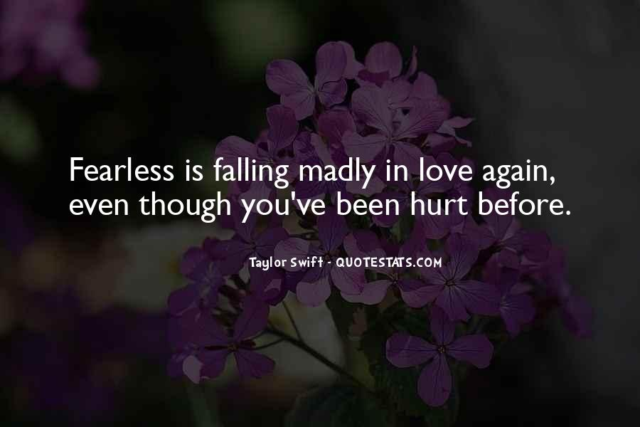 Quotes About Falling Madly In Love #374366