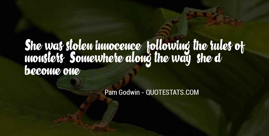 Quotes About Stolen Innocence #985499