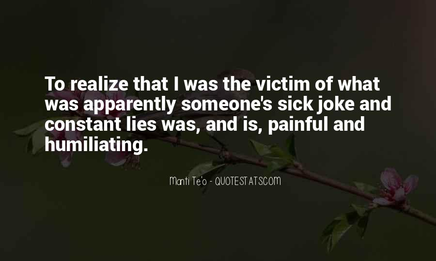 Quotes About Constant Lying #1278067