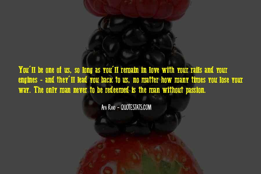 Quotes About The Man Of Your Love #767297