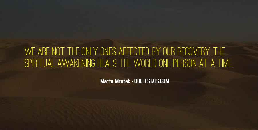 Quotes About Healing The World #1289403