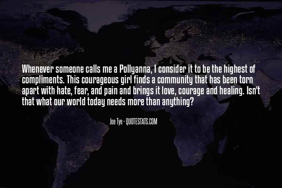 Quotes About Healing The World #1316228