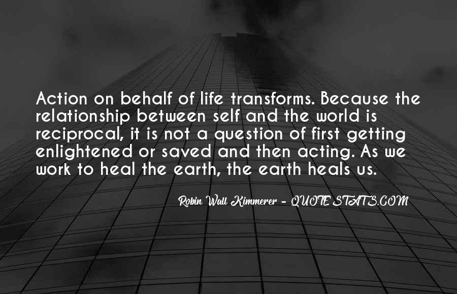 Quotes About Healing The World #765644