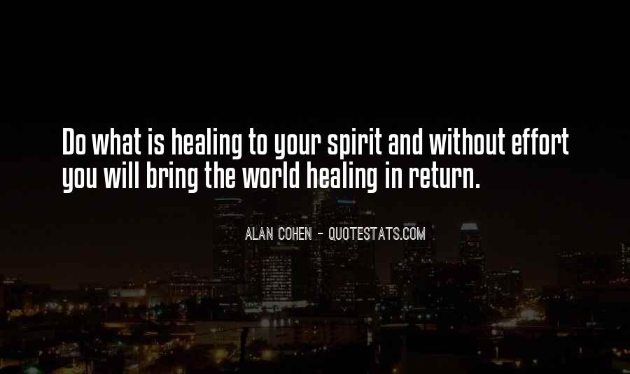 Quotes About Healing The World #808182