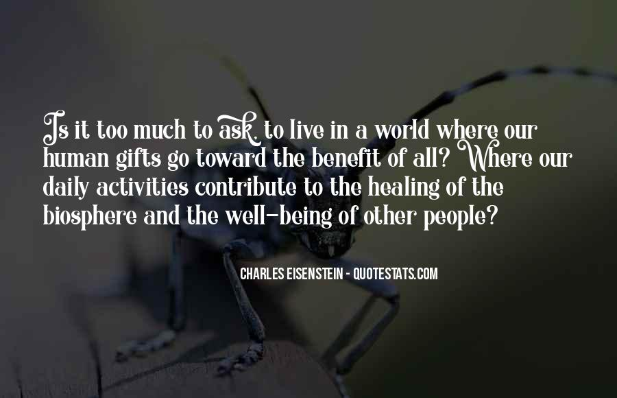 Quotes About Healing The World #863272