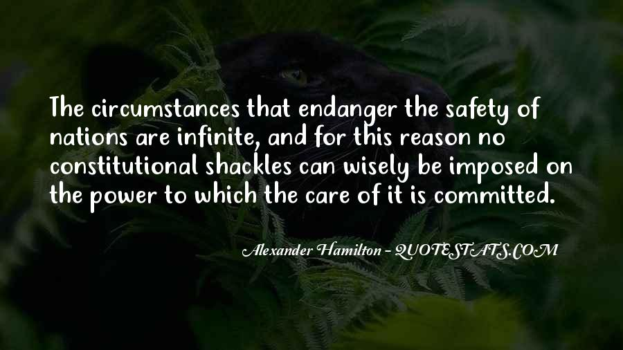 Quotes About Shackles #1125730