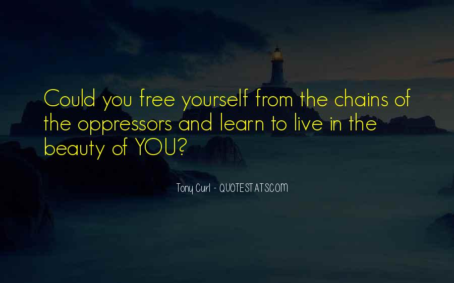 Quotes About Shackles #1164495