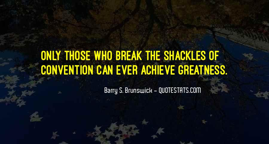Quotes About Shackles #120555