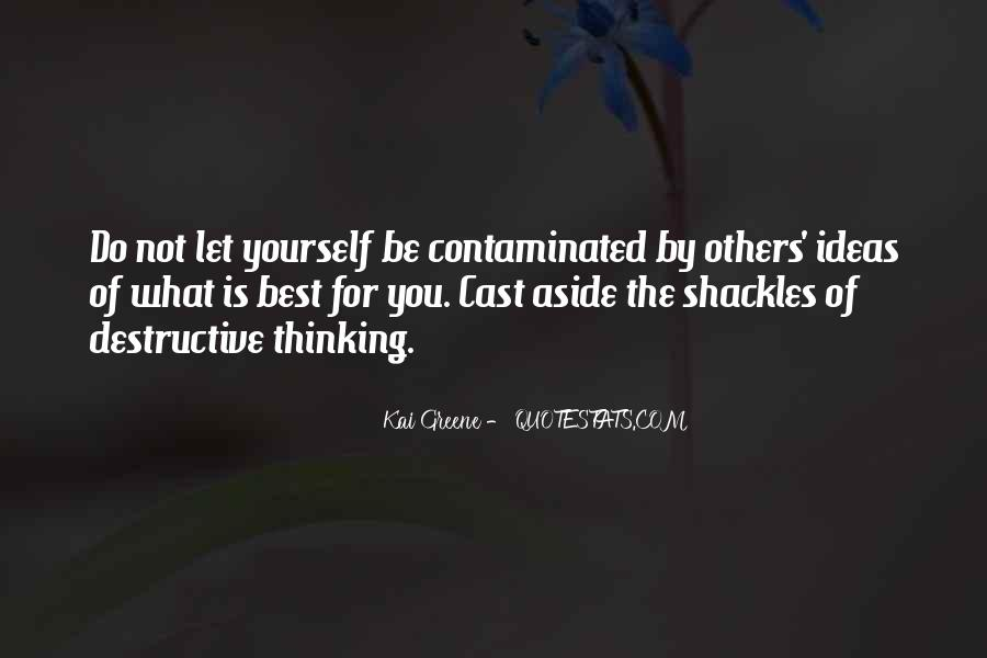 Quotes About Shackles #185798