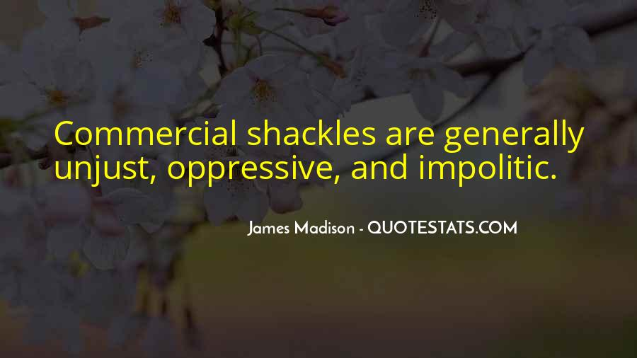 Quotes About Shackles #211661
