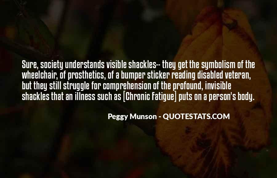 Quotes About Shackles #234832