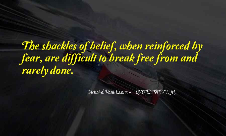 Quotes About Shackles #359169