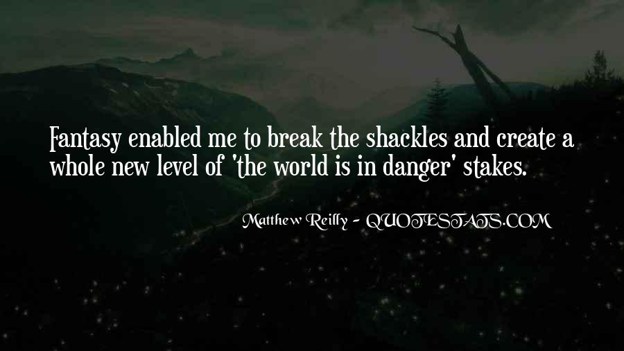 Quotes About Shackles #381902