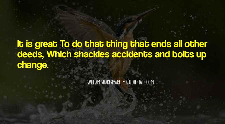 Quotes About Shackles #434771