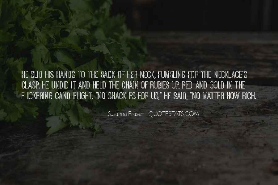 Quotes About Shackles #442364