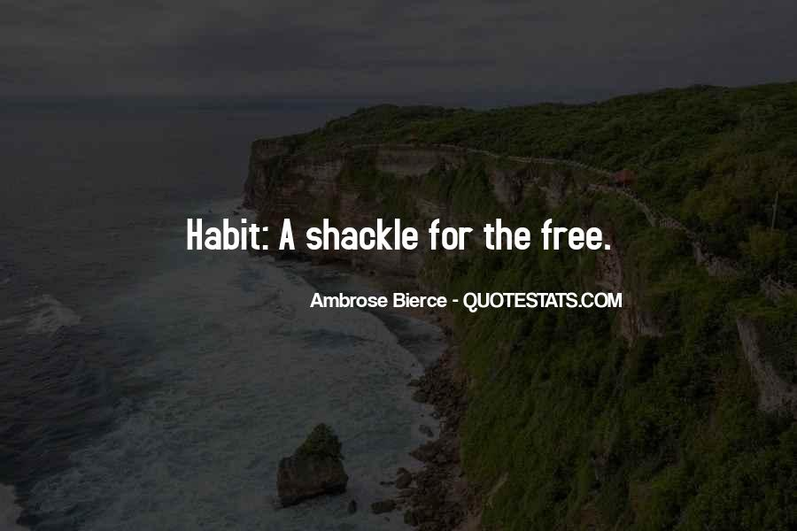 Quotes About Shackles #545408