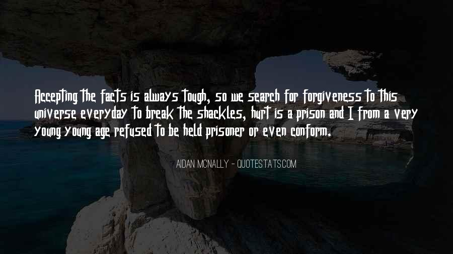 Quotes About Shackles #689514