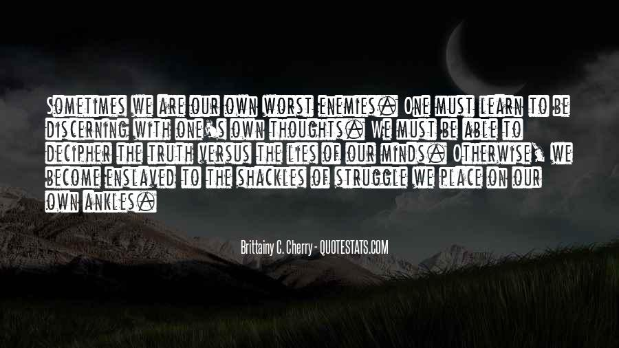 Quotes About Shackles #890108