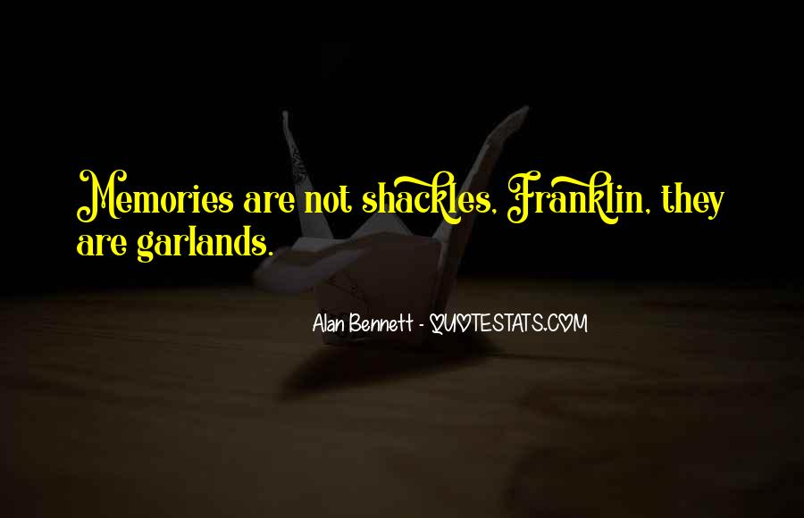 Quotes About Shackles #914379