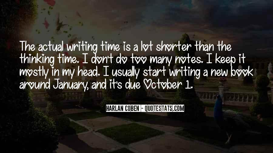Quotes About Writing Notes #1030033