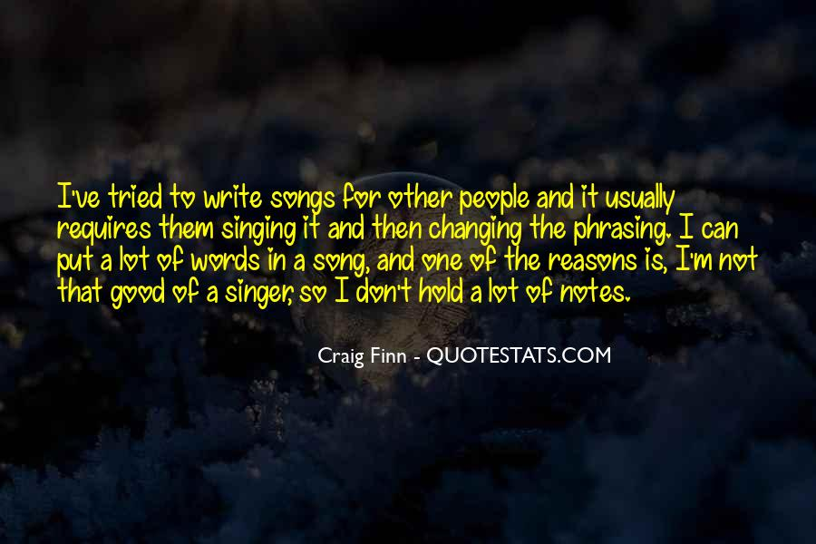 Quotes About Writing Notes #1100422