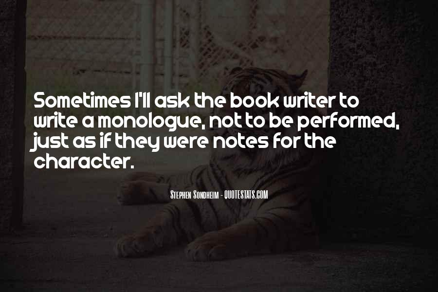 Quotes About Writing Notes #1176537
