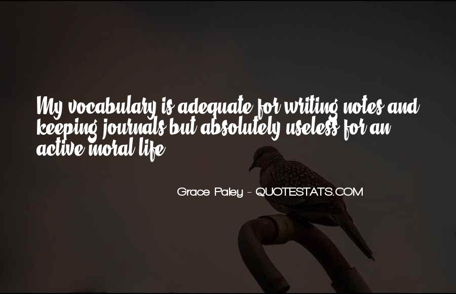 Quotes About Writing Notes #1199401