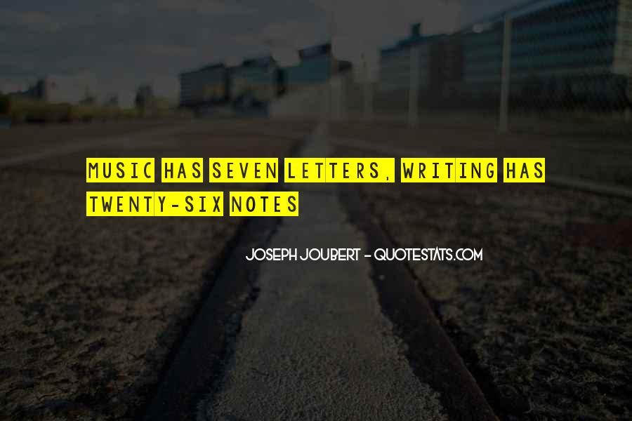 Quotes About Writing Notes #1232202