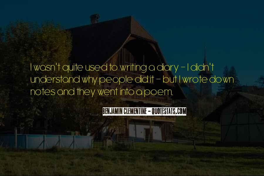 Quotes About Writing Notes #1356032