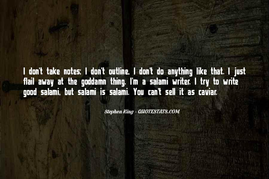 Quotes About Writing Notes #1387633