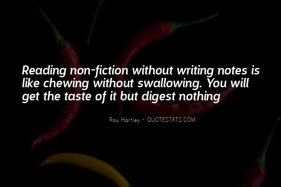 Quotes About Writing Notes #1541735