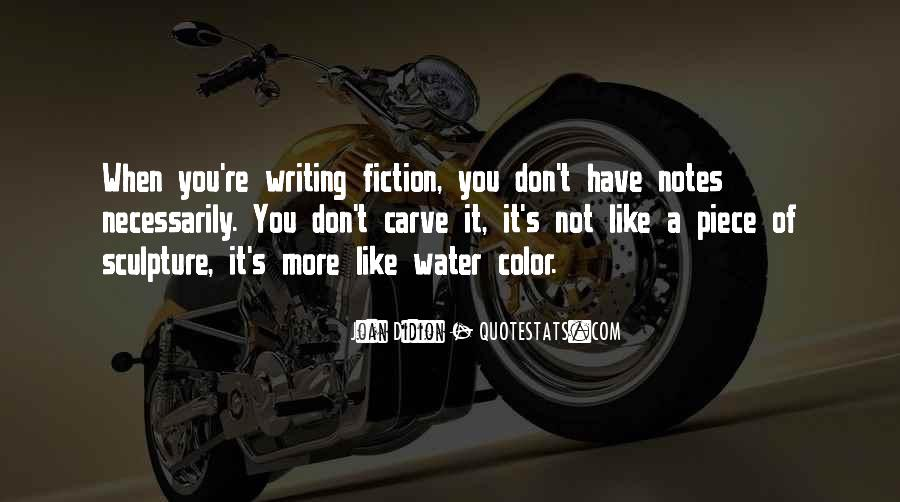 Quotes About Writing Notes #1543365