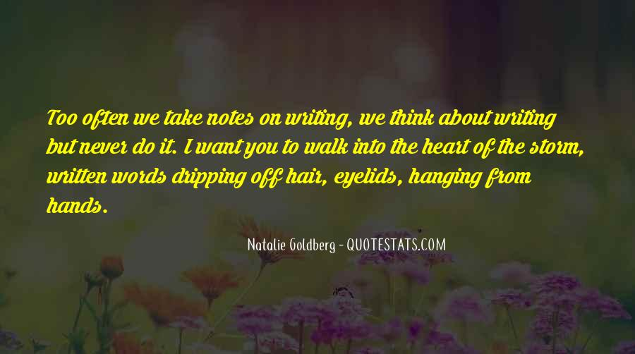 Quotes About Writing Notes #162040