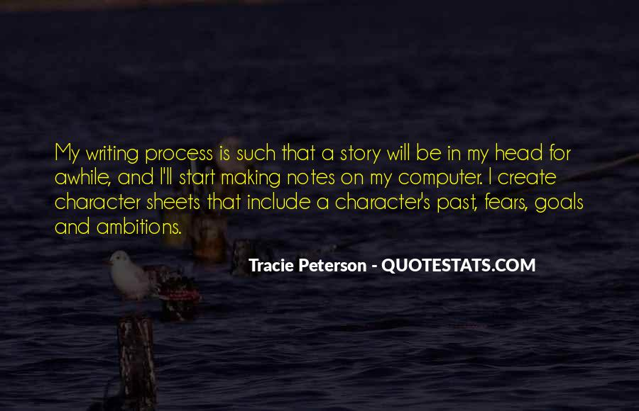 Quotes About Writing Notes #1683782