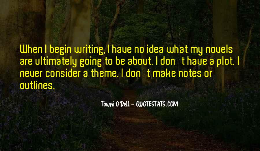 Quotes About Writing Notes #1796538