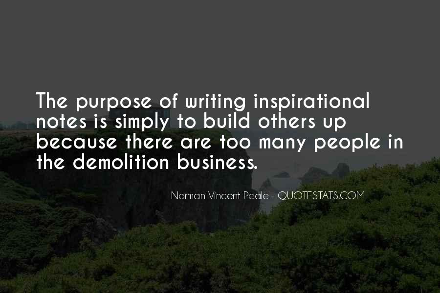Quotes About Writing Notes #1846197