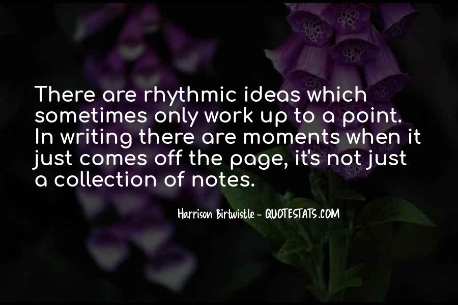 Quotes About Writing Notes #193809