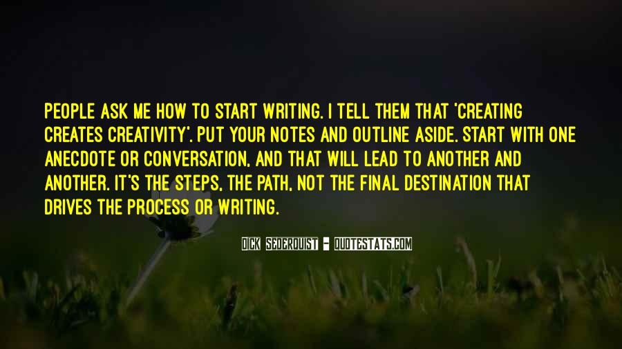 Quotes About Writing Notes #273124