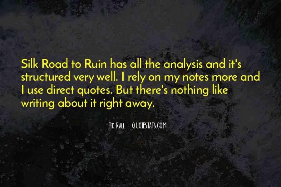 Quotes About Writing Notes #43472