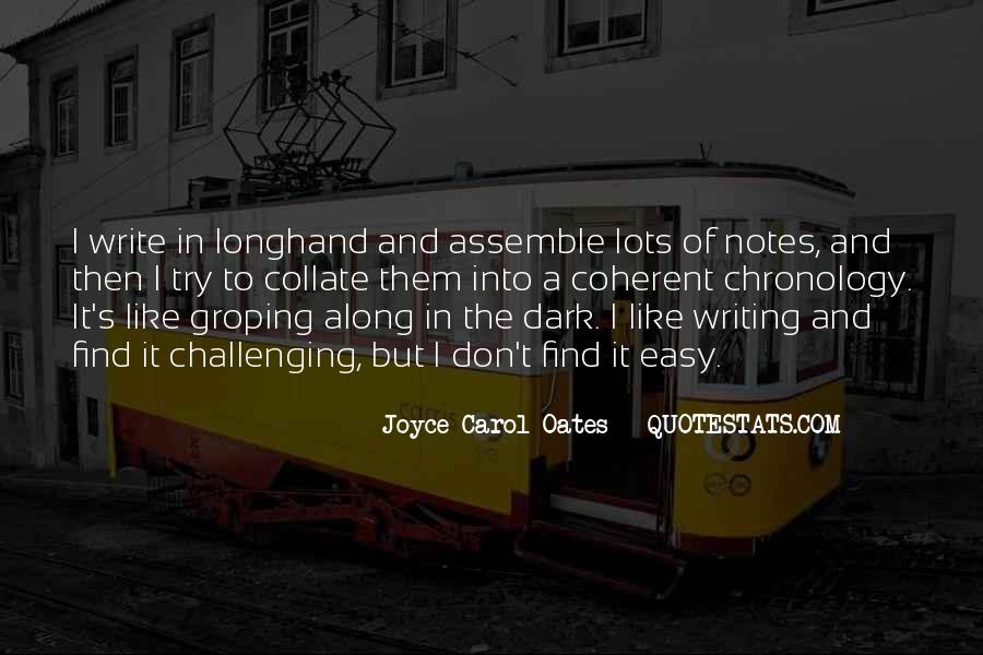 Quotes About Writing Notes #441891
