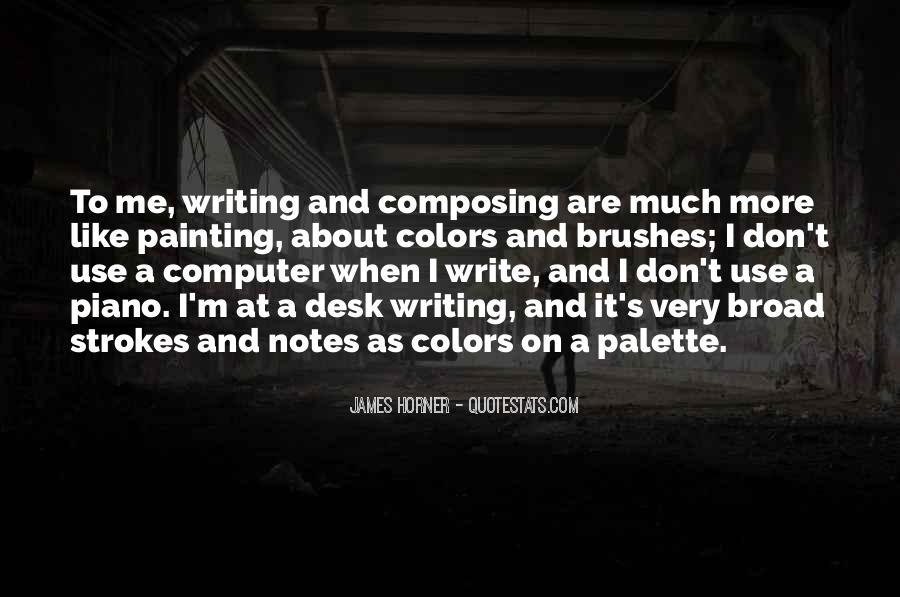 Quotes About Writing Notes #475729