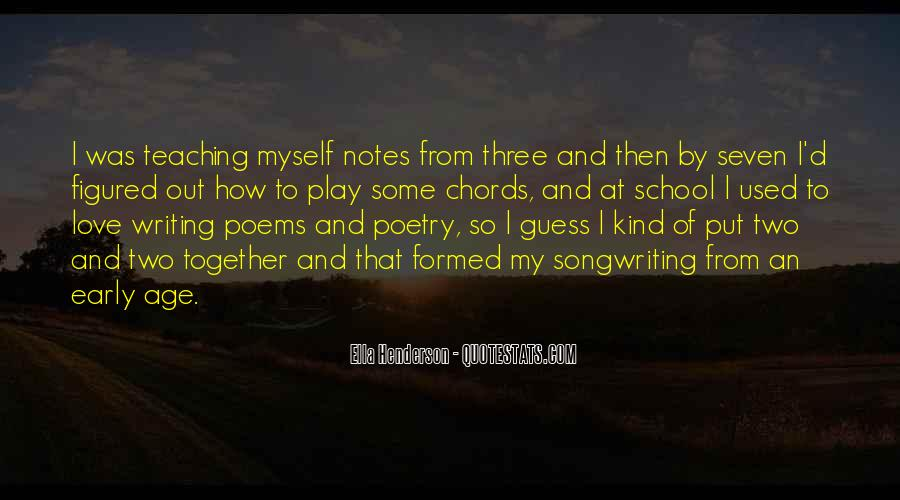 Quotes About Writing Notes #614938